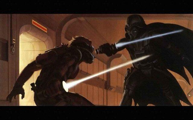 Les illustrations Star Wars de Ralph Angus McQuarrie