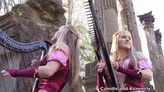 Zelda: Ballad of the Goddess revisitée à la harpe