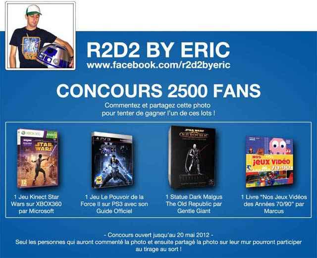 R2-D2 by Eric - Concours 2500 fans