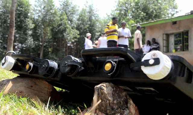 Solvatten - Un jerricane qui purifie l'eau grâce à l'énergie solaire