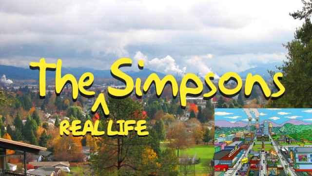 Simpsons - Matt Groening révèle l'emplacement de la véritable Springfield (IRL)