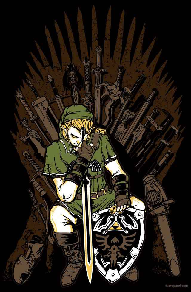 Game of Thrones - Link (Zelda) Mashup