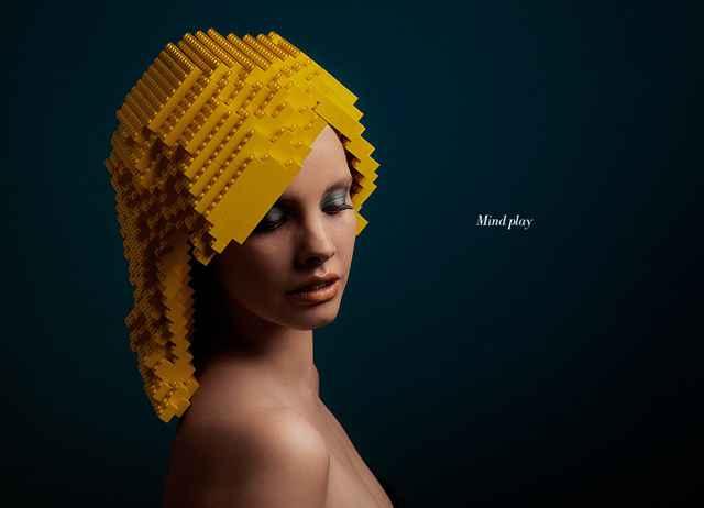 Des perruques en Lego