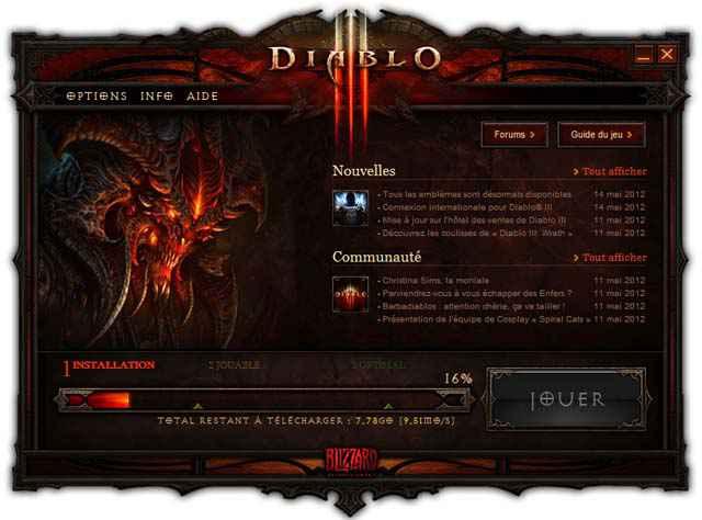 Diablo III - Un générateur d'excuses pour le 15 mai