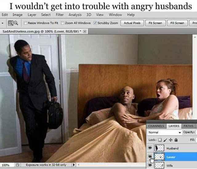 Si on pouvait utiliser Photoshop dans la vraie vie