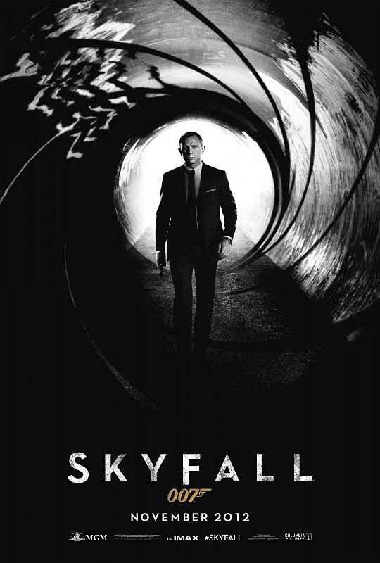 Skyfall - L'Affiche