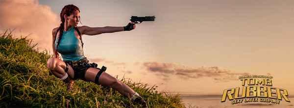 Cosplay - Tomb Rubber : Bianca Beauchamp en Lara Croft