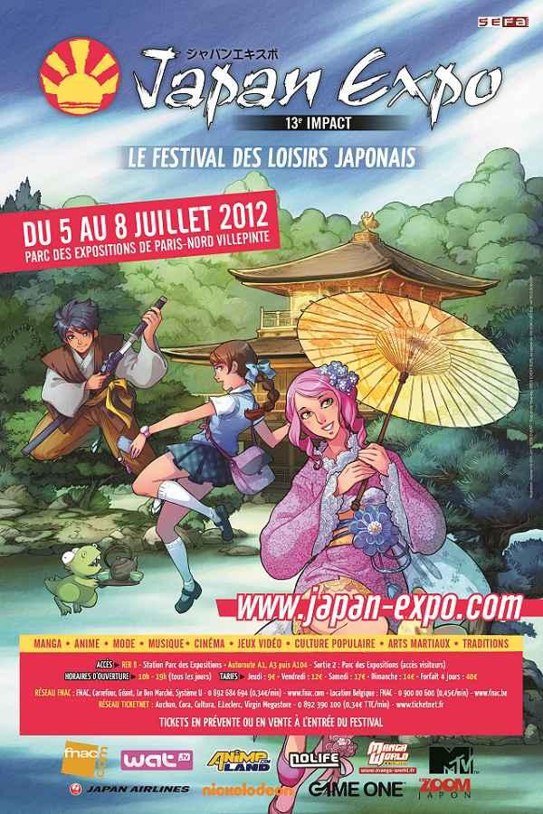 TOUT sûr Japan Expo 13 ème Impact