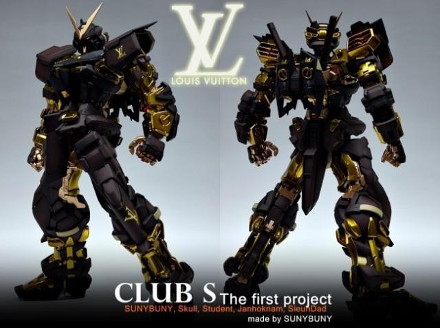 Un Gundam griffé Louis Vuitton