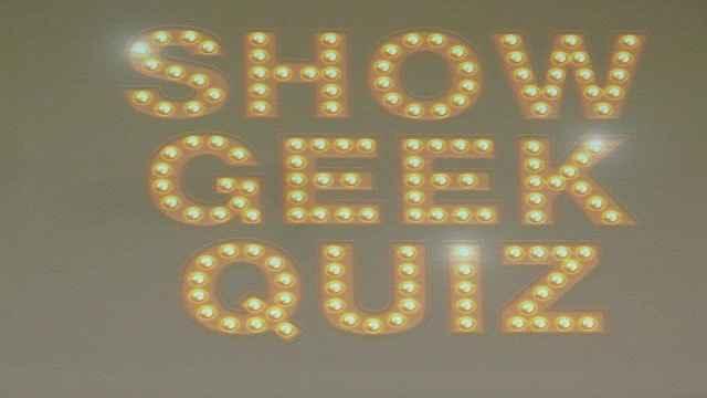 Le Show Geek Quizz avec Simon Astier