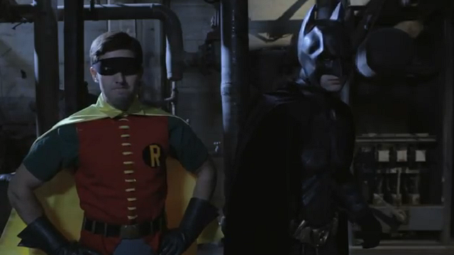 The 60's Robin et The Dark Knight