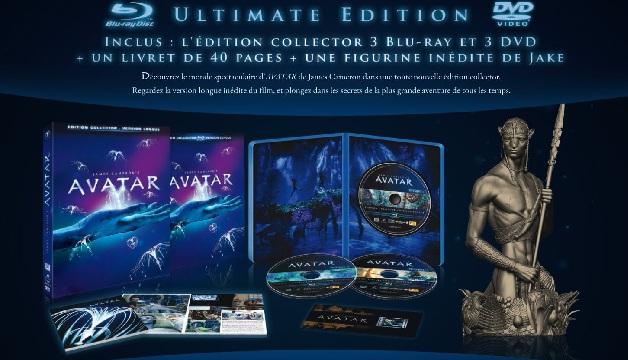 Avatar version longue BR Ultimate Edition à seulement 30 Euros