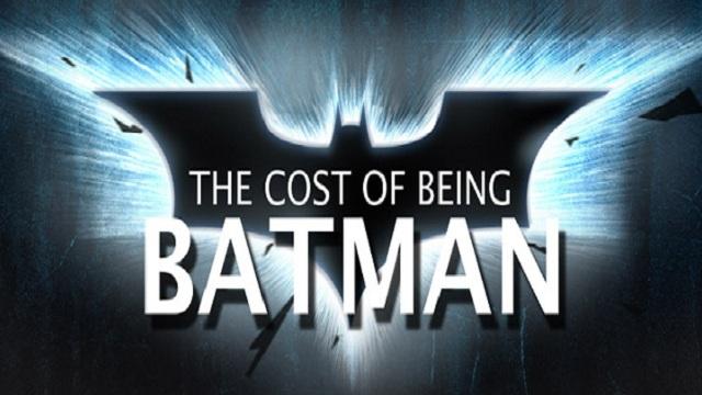 C'est cher d'être Batman ! Oui, mais pas pour lui ...