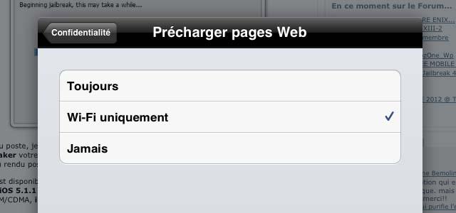 Google Chrome pour iOS