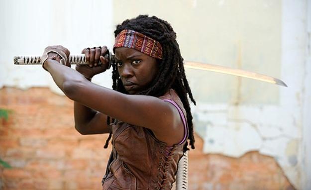 The Walking Dead saison 3 - Une première vidéo avec Michonne