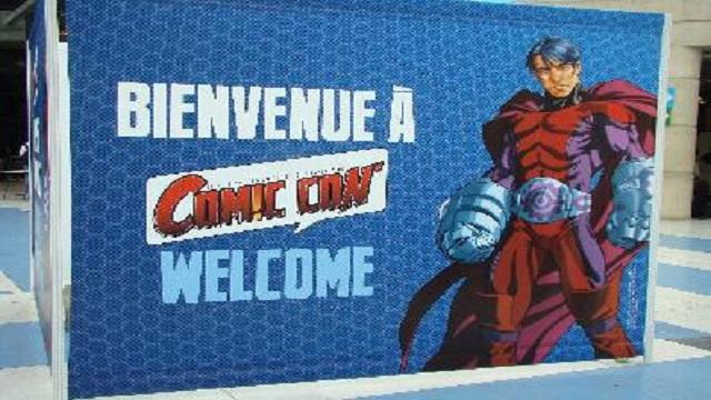Programme Complet Comic Con Paris 4 ème Saison (2012)