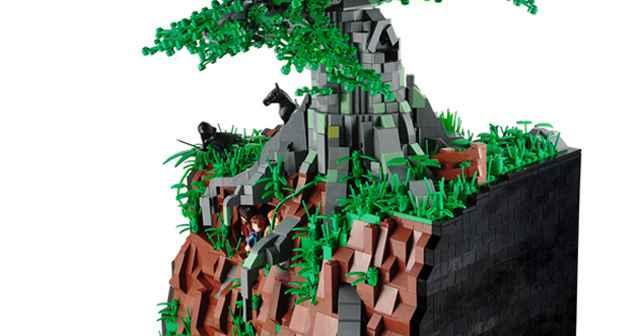 Diaporama Lego A la recherche de l'anneau - Le Seigneur des Anneaux