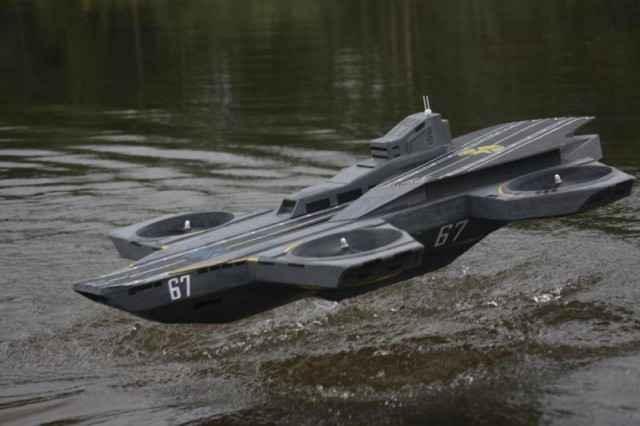 Le drone héliporteur du SHIELD (Avengers: Helicarrier )