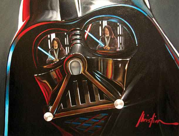 Christian Waggoner - Star Wars Reflection