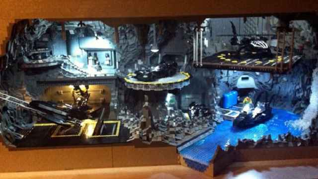 Batcave en Lego