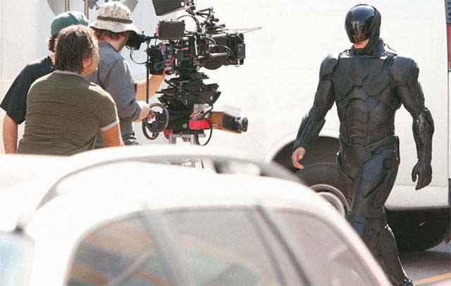 Robocop 2013 - Les premières images du tournage