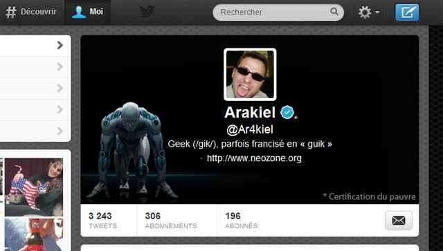 Comment changer l'en-tête des nouveaux profils Twitter