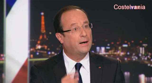 Hollande chante Super Mario !