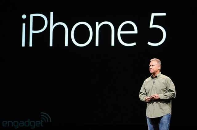 L'iPhone 5 dévoilé par Apple (Live Bloggin)