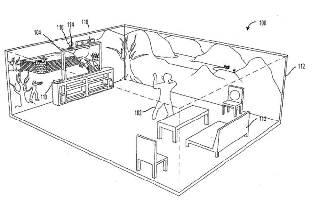Microsoft dépose un brevet pour un Holodeck