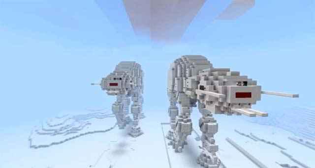 Minecraft - Star Wars : La bataille de Hoth