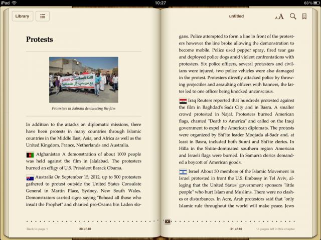 Transformer une page Wikipédia en livre numérique (ePub)