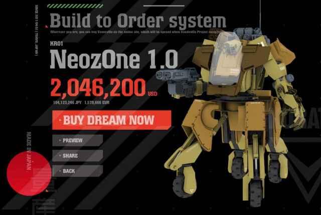 Achetez et customisez votre propre Mecha Kuratas (Metal Gear Solid)