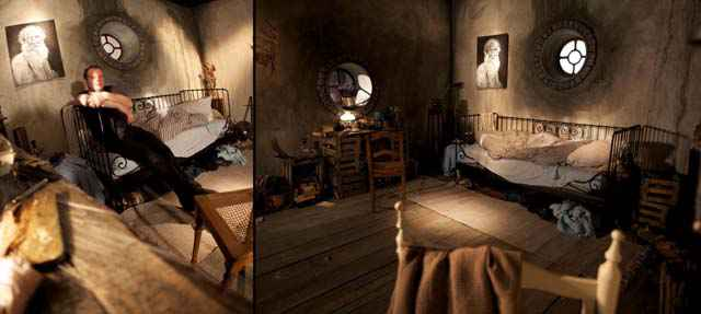 Une véritable chambre de Hobbit