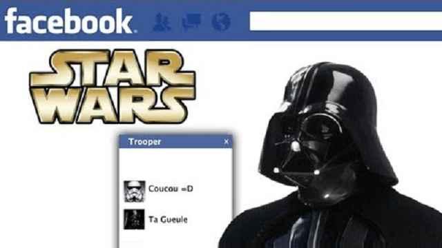 Et si ... Dark Vador était sur Facebook ... ça donnerait quoi ?