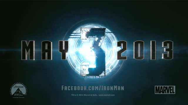 Iron Man 3 - La première bande annonce