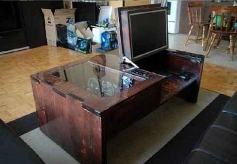 Une table basse pour Geek bricoleur [DIY]
