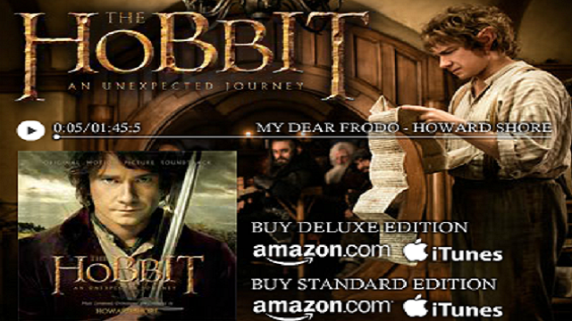 The Hobbit : Bande originale complète