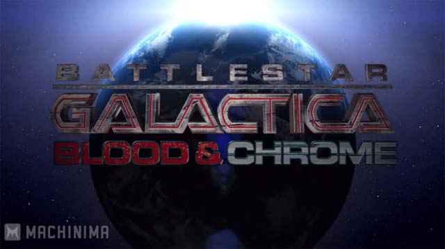 Battlestar Galactica: Blood & Chrome - Diffusion demain sur Machinima