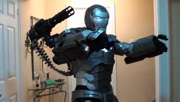 War Machine - Le cosplay ultime (Iron Man II)