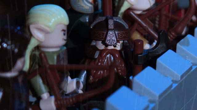 La bataille du Gouffre de Helm en LEGO [LOTR]