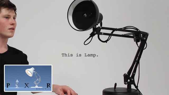 Une superbe réplique intelligente de la lampe Pixar