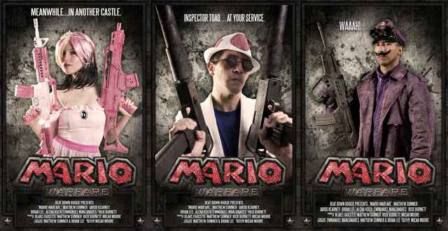 Mario Warfare - Un mashup improbable mais terriblement efficace !