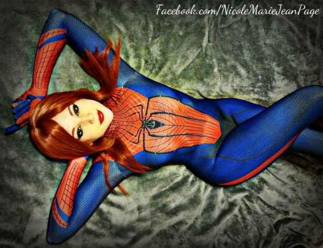 Le cosplay du jour - Marie Jane Spider Man