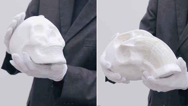 Des sculptures en papier malléable