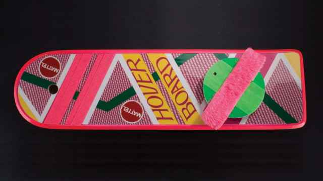 Hoverboard : Hommage à Back to the Future