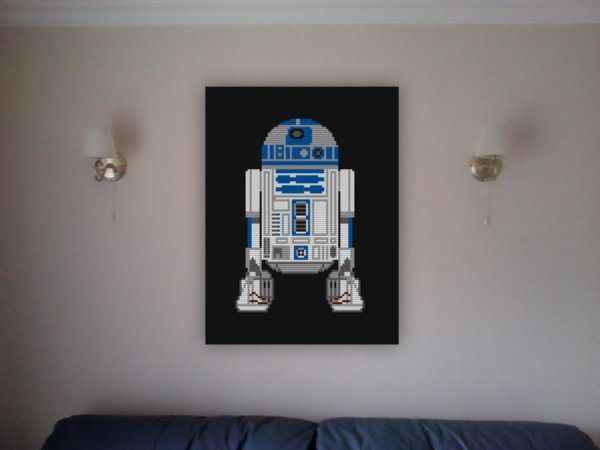 Des tableaux Star Wars en LEGO