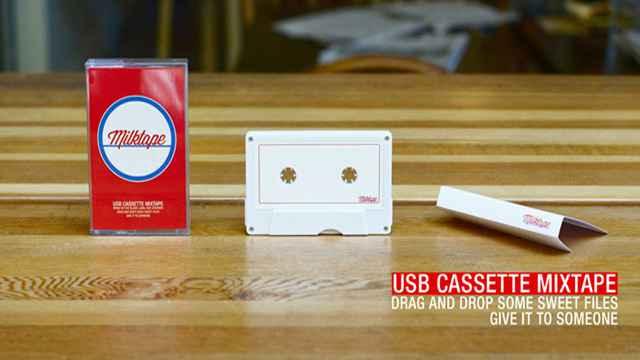 Milktape la K7 audio USB