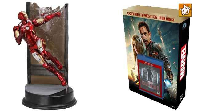 Version exclusive du Blu-Ray Iron Man 3