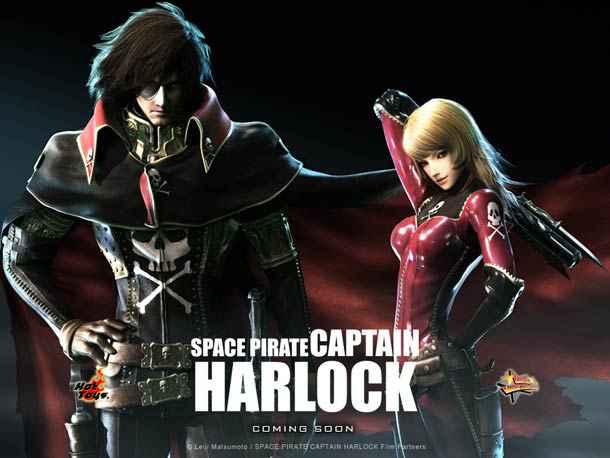 Space Pirate Captain Harlock – La bande annonce d'Albator