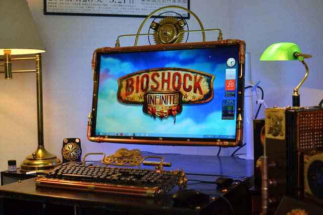 BioShock Infinite - Un case mod steampunk très impressionnant !
